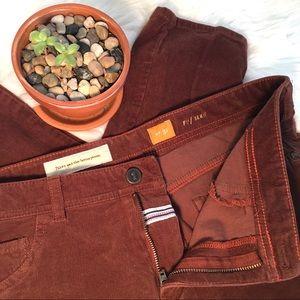 ANTHROPOLOGIE Pilcro Corduroy Jeans Size 31